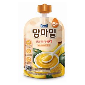 맘마밀 안심 이유식 퓨레(바나나와 ?