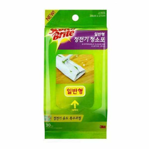 스카치브라이트 정전기 청소포(일반 상품이미지
