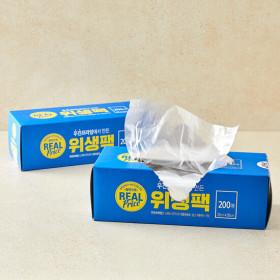 리얼)위생팩200매