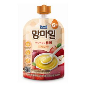 맘마밀 안심 이유식 퓨레(사과와 고?