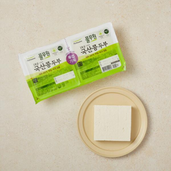 풀무원 국산콩두부 부침용300G+찌개용300G 상품이미지