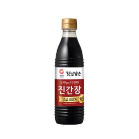 청정원)진간장 진한맛 500ML