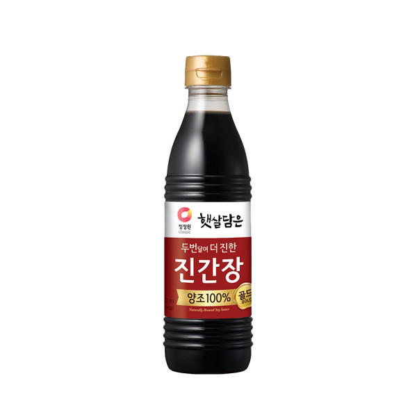 청정원 진간장(진한맛) 500ml 상품이미지