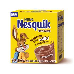 네슬레 네스퀵(초콜릿맛) 13.5g x 20입