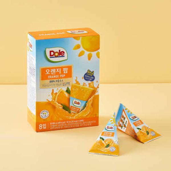 Dole 오렌지팝(62ml x 8입) 상품이미지