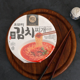 유어스 오모리 김치찌개라면(컵) 150g
