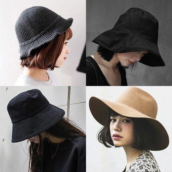 페도라 버킷햇 파나마햇 벙거지모자 중절모 여성 모자 상품이미지