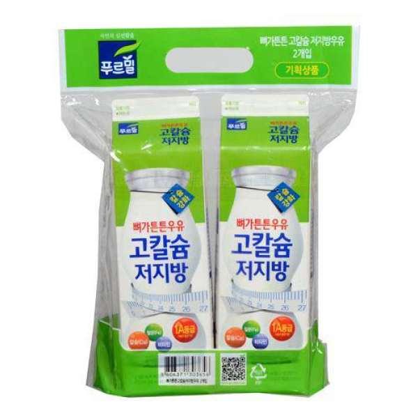 푸르밀 고칼슘저지방우유 기획 900ML 2입 상품이미지