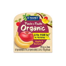 쌩마멧 유기농 사과바나나
