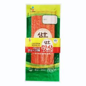 ★유어스 CJ 삼호맛살 115G*2봉 기획