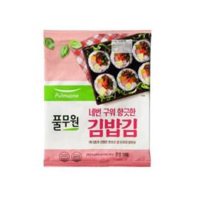 풀무원 두번구운 김밥김 20G