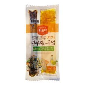 하선정 치자 단무지와 우엉 220g
