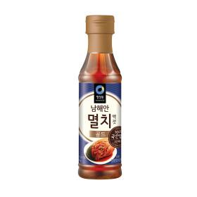 청정원 남해안 멸치액젓 골드 500G