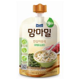 맘마밀 안심 이유식(미역과 소고기) 1