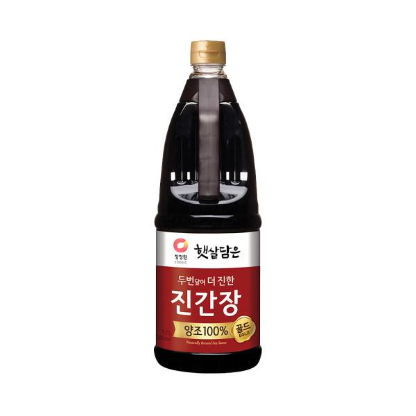 청정원) 진간장 진한맛 1.7L 상품이미지