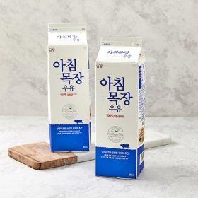 남양 아침목장 우유 900ml x 2입