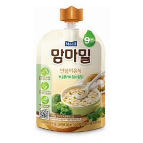 매일)맘마밀안심이유식브로콜리와닭가슴살100G