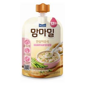 매일)맘마밀안심이유식아스파라거스와닭가슴살100G