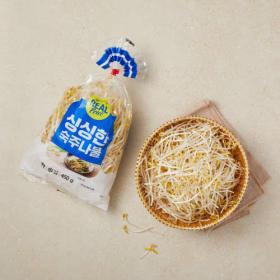리얼 싱싱한 숙주나물 500g