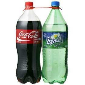 코카콜라1.5L+스프라이트1.5L 기획