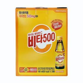 광동 비타500 100ml x 20입
