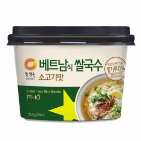 청정원 베트남 쌀국수(소고기맛) 75.4g