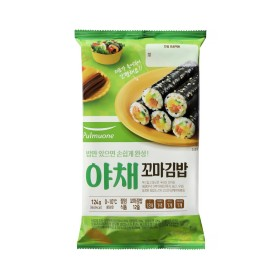 풀무원 꼬마 야채김밥 세트 124G