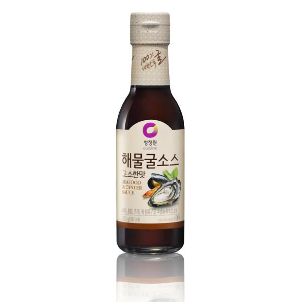 청정원 해물굴소스(고소한맛) 250g 상품이미지