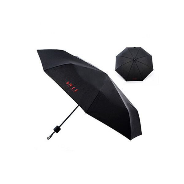 NII 3단 우산(블랙) 상품이미지