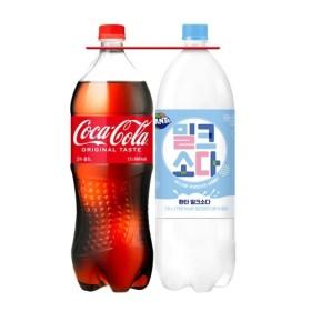 코카콜라+암바사 1.5L 2입 GS기획