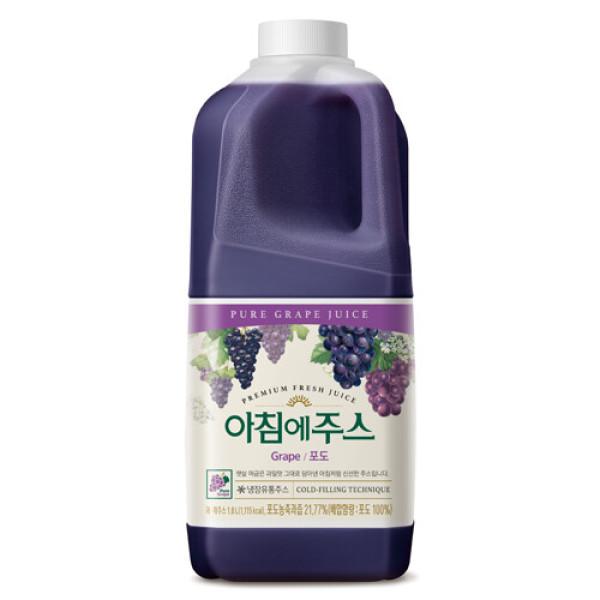 서울 아침에주스(포도) 1800ml 상품이미지