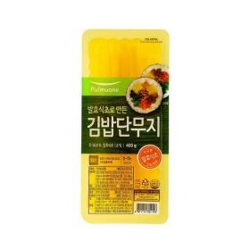 풀무원 김밥단무지 400g