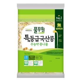 풀무원 국산콩 무농약 안심 콩나물 340g