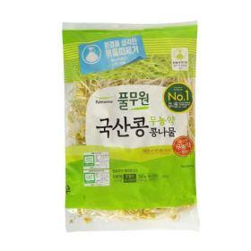 풀무원 국산콩 무농약 안심 콩나물 34
