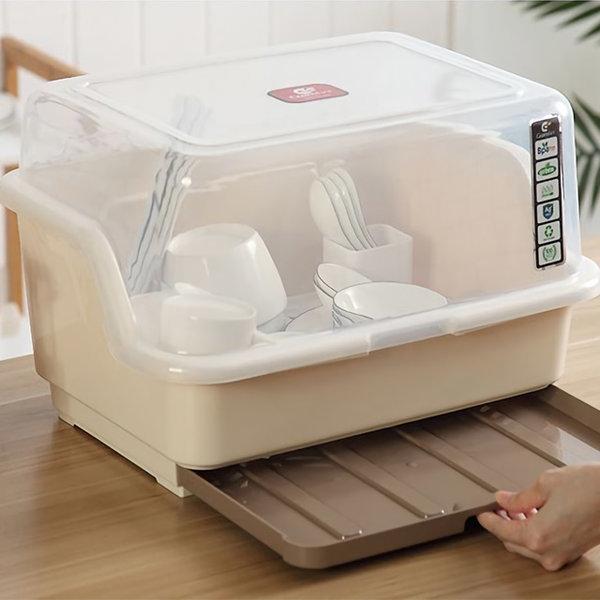 서랍형 물받침 뚜껑 식기건조대 유아젖병 보관으로 딱 상품이미지