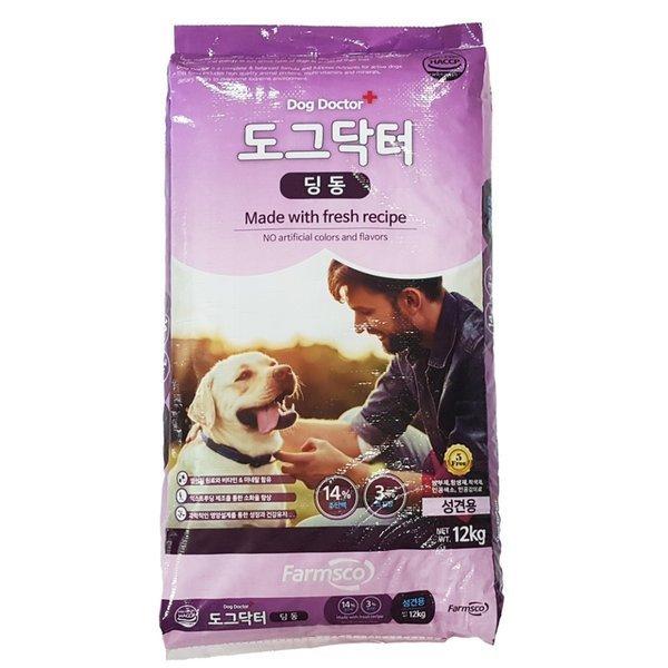 팜스코 도그닥터 딩동12kg 강아지사료/애견/개사료 상품이미지