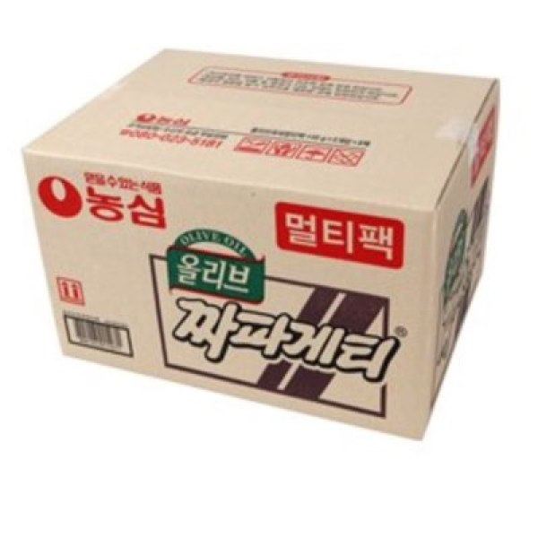 농심  BOX 올리브 짜파게티(5입 8팩)(40봉지) 상품이미지