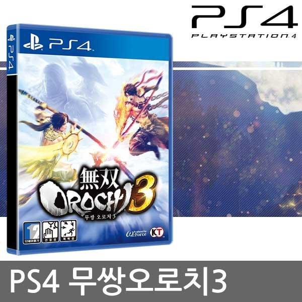 PS4 무쌍오로치3 초회판 -(초회특전 의상 코드 증정) 상품이미지