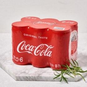 코카콜라(185ML 6입캔)