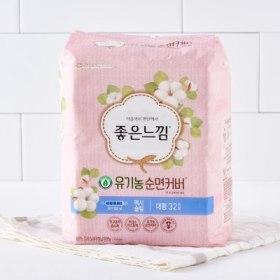 유한킴벌리)좋은느낌유기농순면슬날대32P