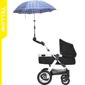 유모차 파라솔(양산/우산) 거치대 : 옐로우(노란색)