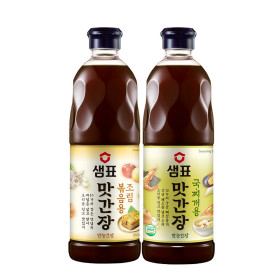 샘표 맛간장 930ml 2팩 기획 +지퍼백 증정