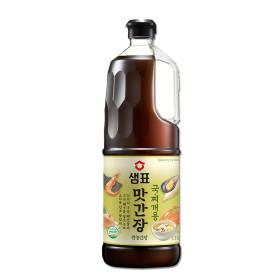샘표 맛간장 국찌개용 1.8L +지퍼백 증정