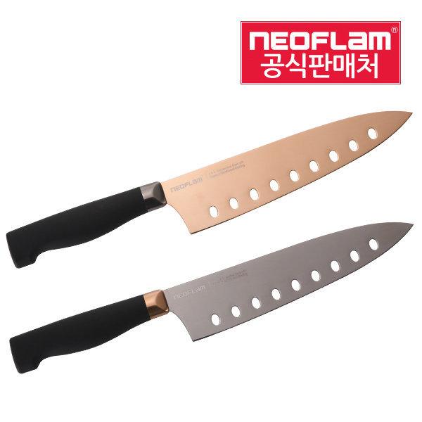 네오플램 티타늄코팅 주방칼 식도 빵칼 과도 셰프 상품이미지