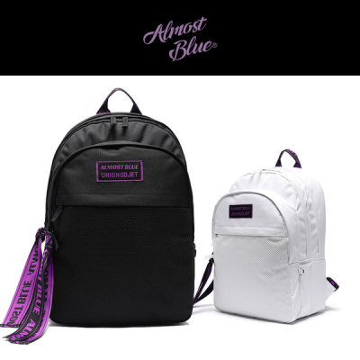 Almost Blue Ultra violet backpack worn by EXO SEHUN