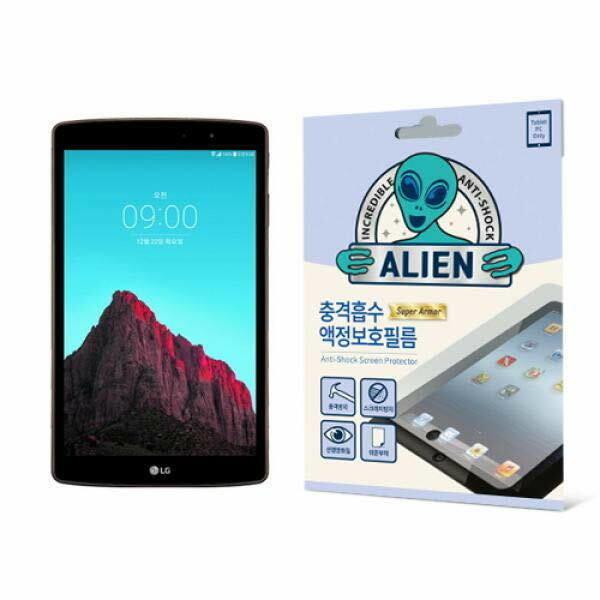 (현대Hmall) 집잇 에어리언쉴드 태블릿PC용 충격흡수 액정보호 방탄필름-LG G패드 2 8.3``(P815) 바보사랑 상품이미지