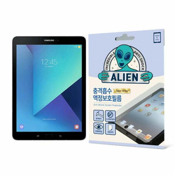 (현대Hmall) 집잇 에어리언쉴드 태블릿PC용 충격흡수 액정보호 방탄필름-갤럭시 탭 S3 9.7``(T820) 바보사랑 상품이미지