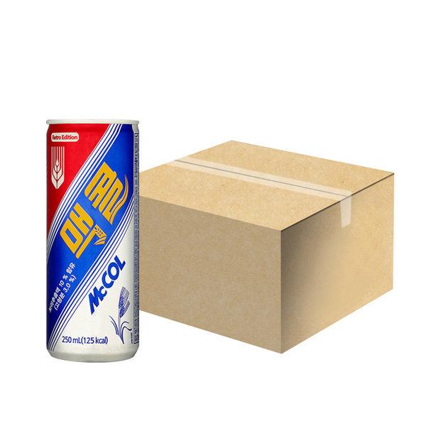 일화 맥콜 250ml x 30캔 1박스 탄산음료 상품이미지