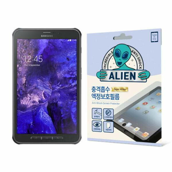 (현대Hmall) 집잇 에어리언쉴드 태블릿PC용 충격흡수 액정보호 방탄필름-갤럭시 탭 ACTIVE LTE(T365) 바보사랑 상품이미지
