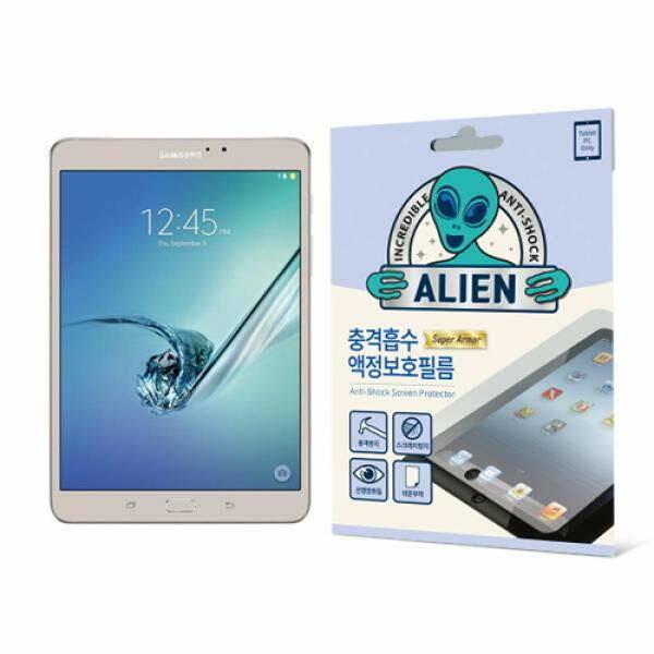 (현대Hmall) 집잇 에어리언쉴드 태블릿PC용 충격흡수 액정보호 방탄필름-갤럭시 탭 S2 8.0``(T715) 바보사랑 상품이미지
